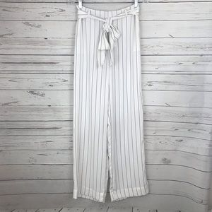 Forever 21 Wide Leg Black/White Pants